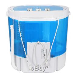 10lbs Compact Lightweight Portable Washing Machine Washer with Spin Cycle Dryer