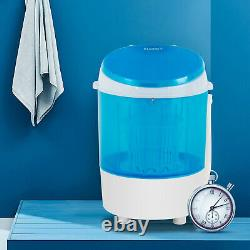 11lbs Semi-Automatic Mini Electric Compact Portable Counter Laundry BABY Washing