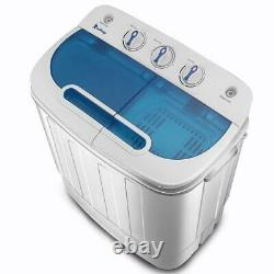 13lbs Portable Washing Machine Mini Washer Spin Dryer Good Condition
