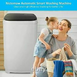 15.6lbs 2 In1 Washing Machine Full-Auto Laundry Washer Dryer Shock Absorption