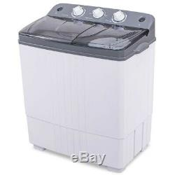 16 lbs Compact Portable Washer Dryer with Mini Washing Machine and Spin Dryer