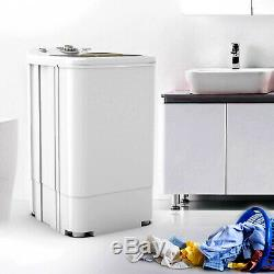 17.6 LBS Compact Spinner Mini Dryer Draining 1500 RPM Laundry Home Dorms White