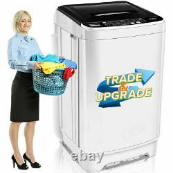 17.8lbs 2 IN 1 Full Automatic Washing Machine Portable Laundry Washer Dryer Pro