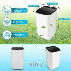 2021 Full-Automatic Washing Machine Portable Washer Compact Laundry Spin Dryer