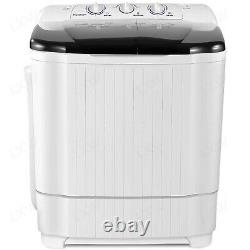 21LBS Compact Portable Washing Machine Twin Tubs Spiner Dryer Laundry Washer