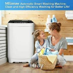 26lbs 2 IN1 Auto Washing Machine Compact Portable Laundry Washer Spiner Dryer