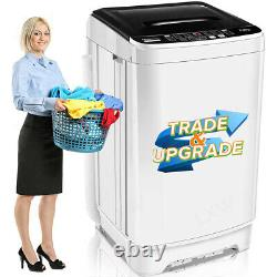 26lbs 2 IN1 Auto Washing Machine Set Compact Portable Laundry washer and dryer