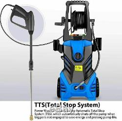 3500PSI 2.6GPM Electric Pressure Washer High Power Cold Water Washing Machine