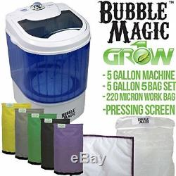 5 Gallon Bubble Magic Washing Machine + Ice Hash Extraction 5 Bags Kit GROW1