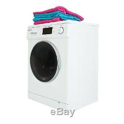 All-in-One 1.6 cu. Ft. Compact Combo Washer and Electric Dryer in White