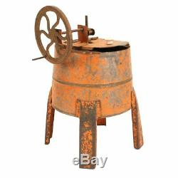 Antique Salesman Sample Washing Machine c. 1890s Great Old Paint