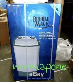 Bubble Magic 20 Gallon Mini Washing Machine Ready to ship 2020 420 Hydroponics