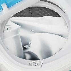 Compact Portable Washer & Dryer with Mini Washing Machine and Spin Dryer White