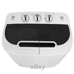 Compact Twin Tub Washing Machine Fast Dryer & Efficient Spin Washer Top Load