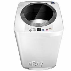 Full-Automatic Laundry Wash Machine 7.7Lb Washer/Spinner WithDrain Pump New