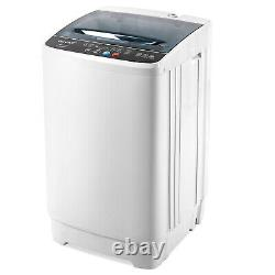 Full Automatic Laundry Washing Machine One-Tub Washer & Spin Dryer 12lbs Compact