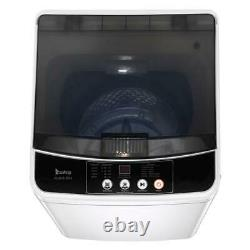 Full-Automatic Washing Machine Compact Laundry Washer Spin with Drain Pump