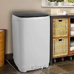 Full-Automatic Washing Machine Portable Washer Spin Dryer 14lbs Compact Laundry