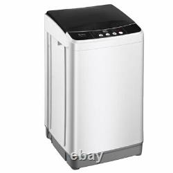Full-automatic Washing Machine Portable Compact Laundry Washer with Drain Pump