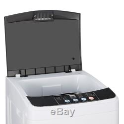 Fully-automatic Washing Machine Compact Washer Shock Absorption Save Space