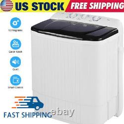 HOT! Compact Portable Washing Machine Twin Tubs Spiner Laundry Washer and Dryer