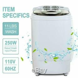 Kuppet Mini Portable Washing Machine For Compact Laundry, 11Lbs Capacity, Small