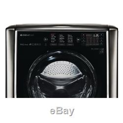 LG SIGNATURE 5.8 cu. Ft. Front Load Washer Black Stainless Steel WM9500HKA