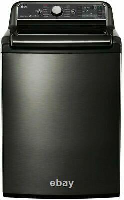 LG WT7600HKA 27 Inch 5.2 cu. Ft. Top Load Washer with Steam, SmartDiagnosis