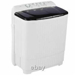 Large Compact Portable Washing Machine Twin Tub Spiner Laundry Washer and Dryer
