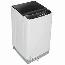 Laundry Washer Compact Full Automatic Washing Machine Spin with Drain Pump