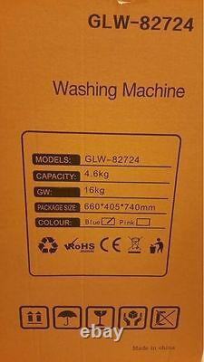 Leisure Direct 230v Twin Portable Washing Machine For Students + Spin Function