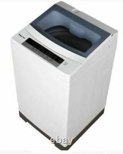 Magic Chef Portable Compact Wash Machine Cycle 1.6 cu ft Top Load Washer White