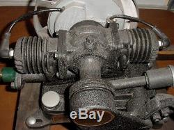 Maytag Twin Cyl Antique Washing Machine Hit Miss Gas Engine Nicely Restored
