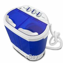 Mini 10.4lbs Portable Washing Machine Washer Spin Dryer Good Condition Dorm Home