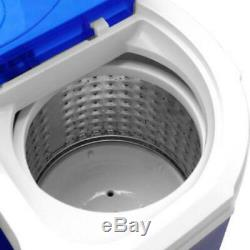Mini 10.4lbs Portable Washing Machine Washer Spin Dryer Good Condition dormitory