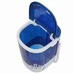 Mini Portable Washing Machine Small Laundry Washer Spin Dryer Combo Apartments