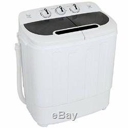 Mini Washer Dryer Set Combo Spin Washing Machine RV Camper Laundry Drying 13lbs