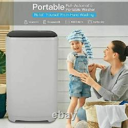 NEW Full-Automatic Washing Machine Portable Washer Compact Laundry Spin Dryer^^