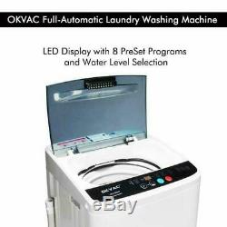 NEW Portable Compact Full-Automatic Washing Machine Spin Dryer Laundry 8 LBS USA