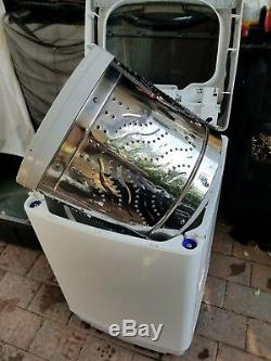 Portabe Family Size 1,7 Cub. Ft Washer 12lb Capacity with 6 month warranty