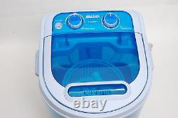 Portable 230v Mini Washing Machine Ideal For Outdoor Garden Camping Spin Dryer