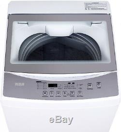 Portable Electric Washing Machine Light Washer 2 Cu Ft Top Load Home Laundry