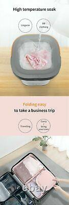 Portable Foldable Washer Dryer Small Compact Washing Machine Camping Caravan Oz