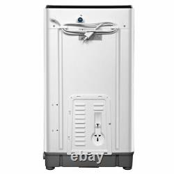 Portable Full Automatic Washing Machine 10Lbs Capacity Compact Laundry Washer