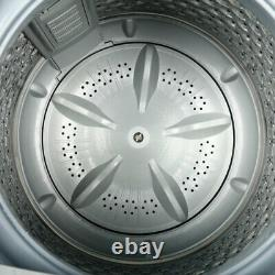 Portable Full-automatic Washing Machine Compact Smart Delay Washer with Drain Pump