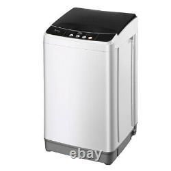 Portable Washer 10 Lbs Capacity Full-Automatic Compact Laundry Washing Machine