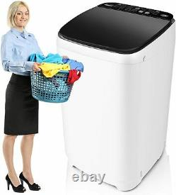 Portable Washer 21 Lbs Capacity Full-Automatic Compact Laundry Washing Machine