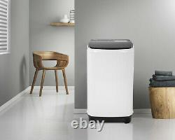 Portable Washing Machine Full-Automatic Washer and Spin Dryer 12lbs Capacity