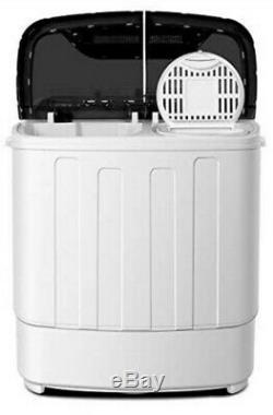 Portable Washing Machine TG23 Twin Tub Washer Machine with Wash and Spin Cycle