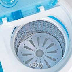 Portable Washing Machine Washer with Spin Cycle Dryer Compact lightweight 10lbs